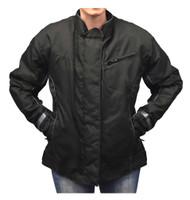 Redline Women's Body Armor Racing Nylon Jacket w/ Liner, Solid Black L-4014 - Wisconsin Harley-Davidson