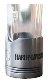 Harley-Davidson Piston Shot Glass Set, Two Hand Blown 2 oz. Glasses HDL-18770 - Wisconsin Harley-Davidson