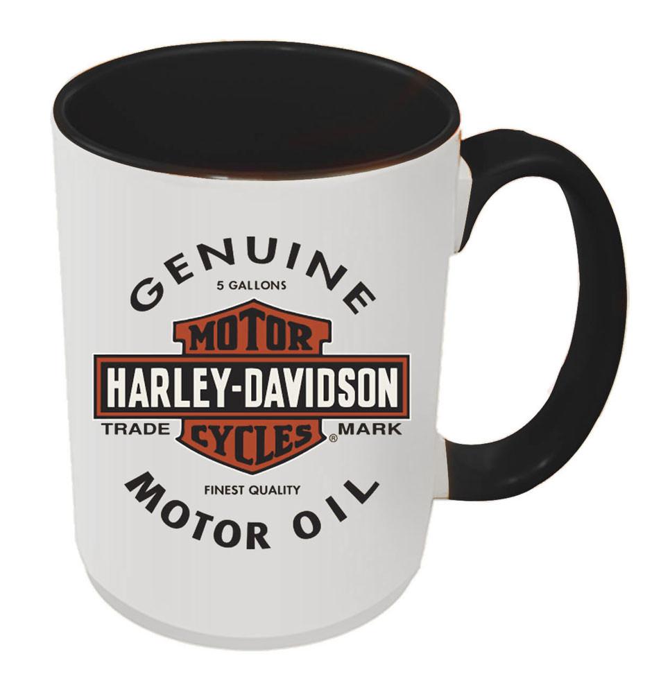 Harley Inside Genuine W Hd Mug15 1772b amp;s White Oz Davidson® B Coffee Black Gmo w80nONPkX