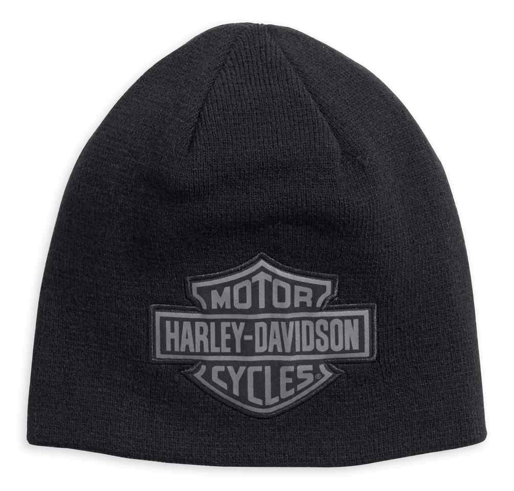 d72b95158 Harley-Davidson® Men s Reversible Logo Knit Beanie Hat