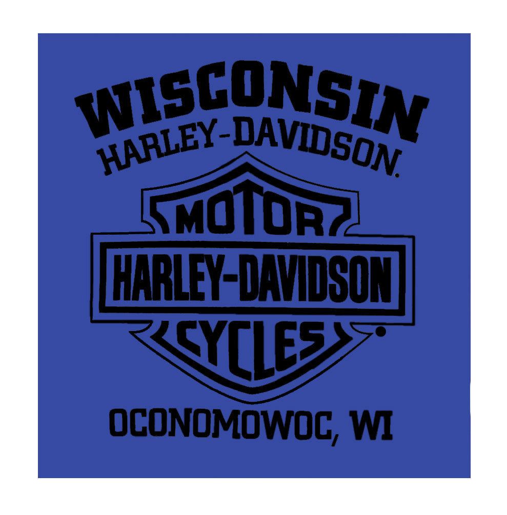07d4bcaf878d ... Neck T-Shirt, Royal. Harley-Davidson Free Shipping - Harley-Davidson  Men's '36 Knucklehead Short Sleeve Crew. See 1 more picture