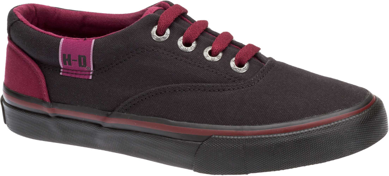 a291538a8daa Harley-Davidson Women s Layton Black Plum Athletic Sneakers Skate Shoes.  D83974 - Largest. See 3 more pictures