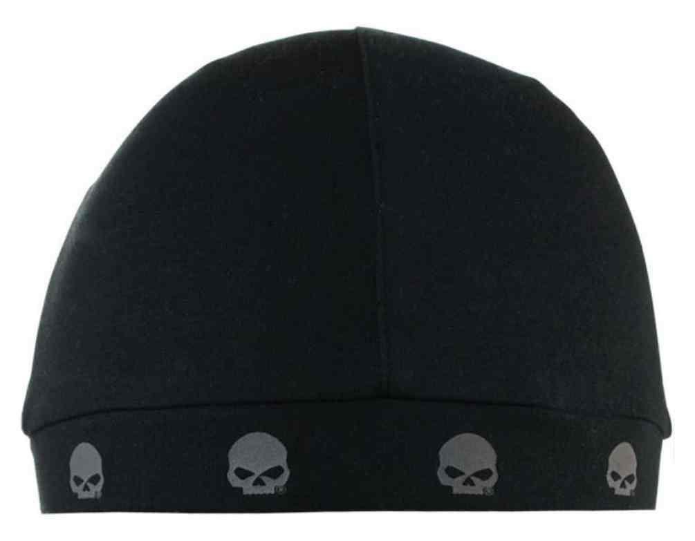 Harley-Davidson® Men s Willie G Skull Logos Skull Cap a3340afba23