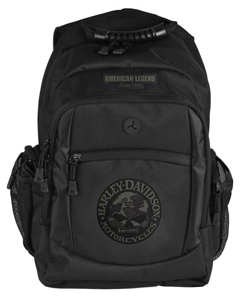 174280e2a98b Harley-Davidson® 3D Willie G Skull Classic Camo Backpack, Black  BP3025S-CAMBLK