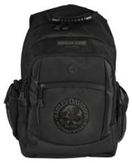 Harley-Davidson 3D Willie G Skull Classic Camo Backpack, Black BP3025S-CAMBLK - Wisconsin Harley-Davidson