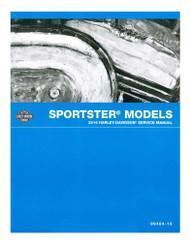 Harley-Davidson 2016 Sportster Models Motorcycle Service Manual 99484-16A - Wisconsin Harley-Davidson