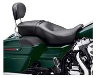 Harley-Davidson Hammock Rider & Passenger Touring Seat, Fits '14-later 52000176 - Wisconsin Harley-Davidson