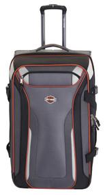 "Harley-Davidson 21"" Thunder Road Carry-On Wheeling Luggage, Gray/Black 99322-GB - Wisconsin Harley-Davidson"