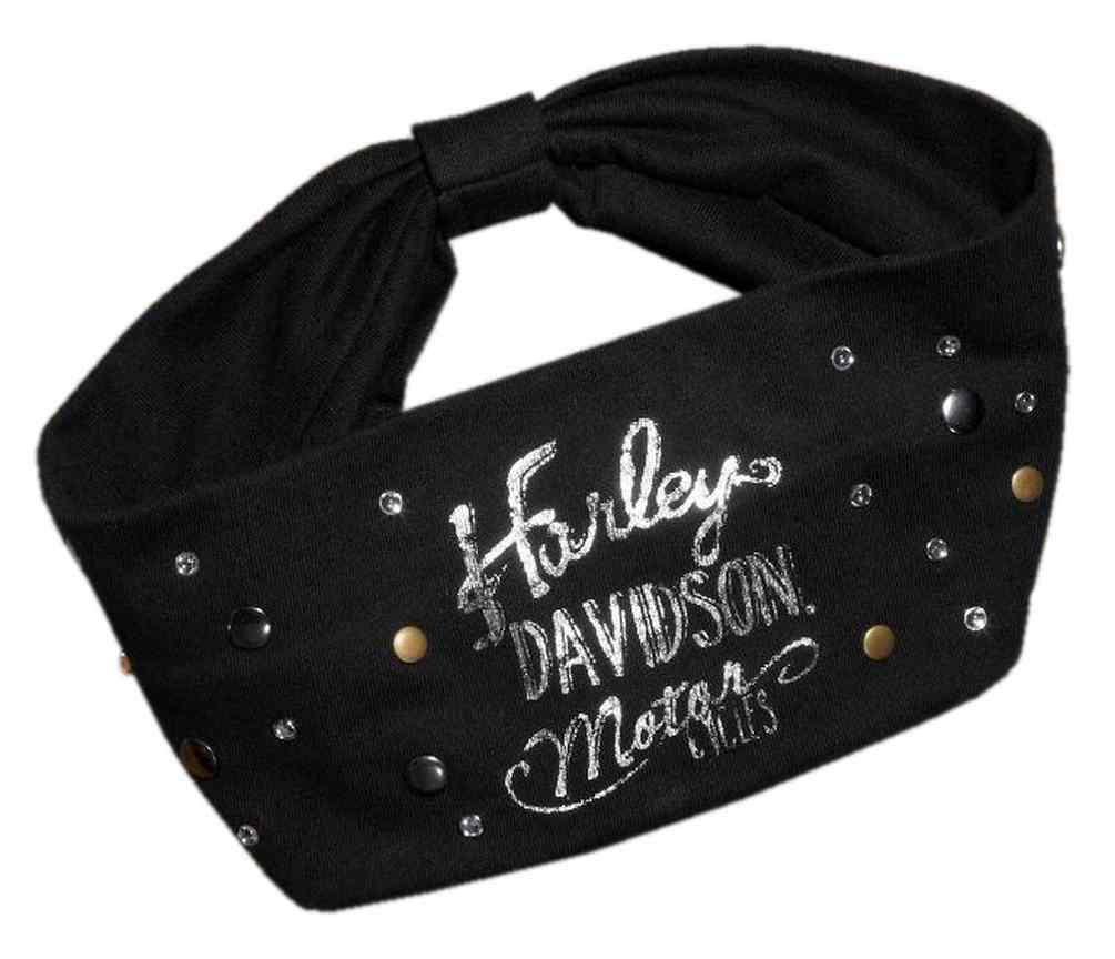 Harley-Davidson® Women s Stud   Rhinestone Knit Headband 5e4b80382e9