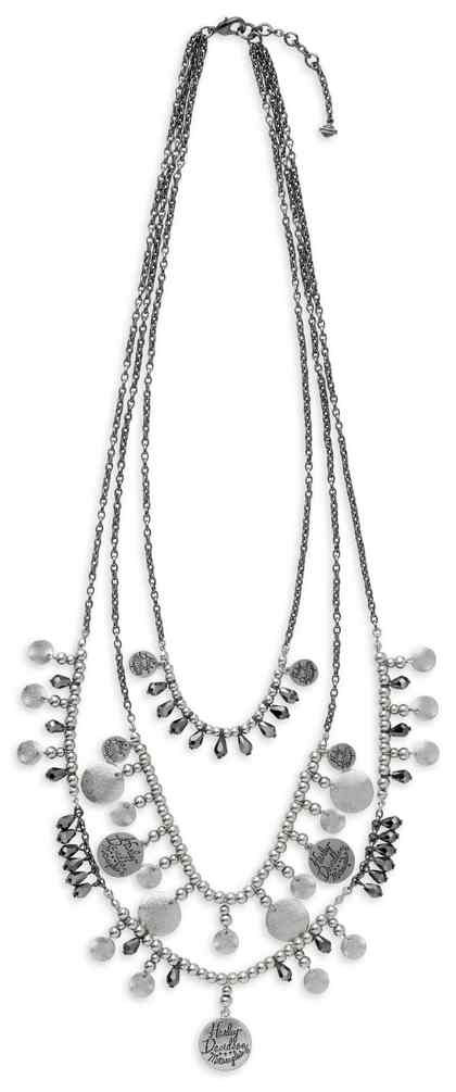 Harley-Davidson® Women s Diamond Dust Multi-Chain Necklace fb363499e2