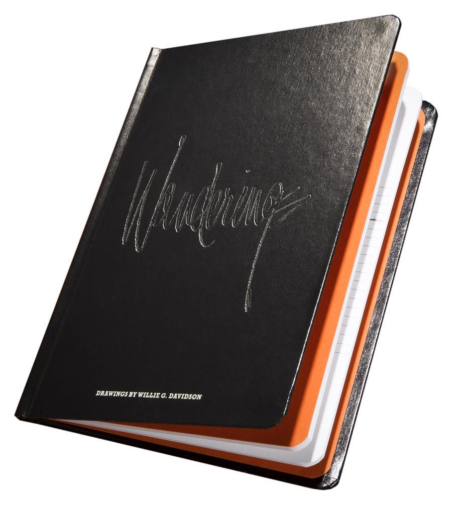 Harley-Davidson® Willie G Davidson Collection of Doodles Hardcover Book  HDBK-WGD