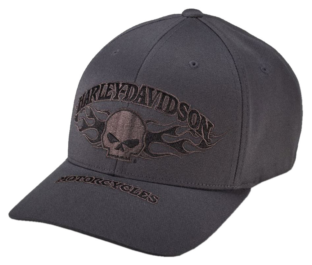 2eecf42a31a02 ... Harley-Davidson Men s Willie G Skull Flexfit Baseball Cap. See 1 more  picture