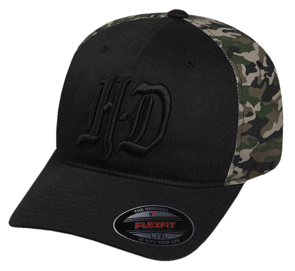 6d760c2ad6a49 ... Harley-Davidson Men s Embroidered H-D Camo Stretch Fit Baseball. See 1  more picture