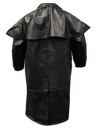 Redline Men's Classic Duster Premium Leather w/ Zip-Out Liner, Black M-DUSTER - Wisconsin Harley-Davidson