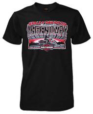 Harley-Davidson Men's Legendary Nomad Short Sleeve T-Shirt, Solid Black - Wisconsin Harley-Davidson