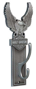 Harley-Davidson Eagle Bar & Shield Coat Hook Heavy-Duty Antique Finish HDL-10143 - Wisconsin Harley-Davidson