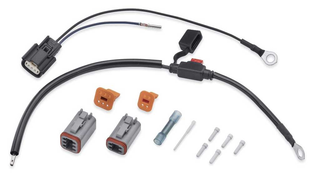 Harley-Davidson® Spectra Glo Wire Harness Lighting Connection Kit on