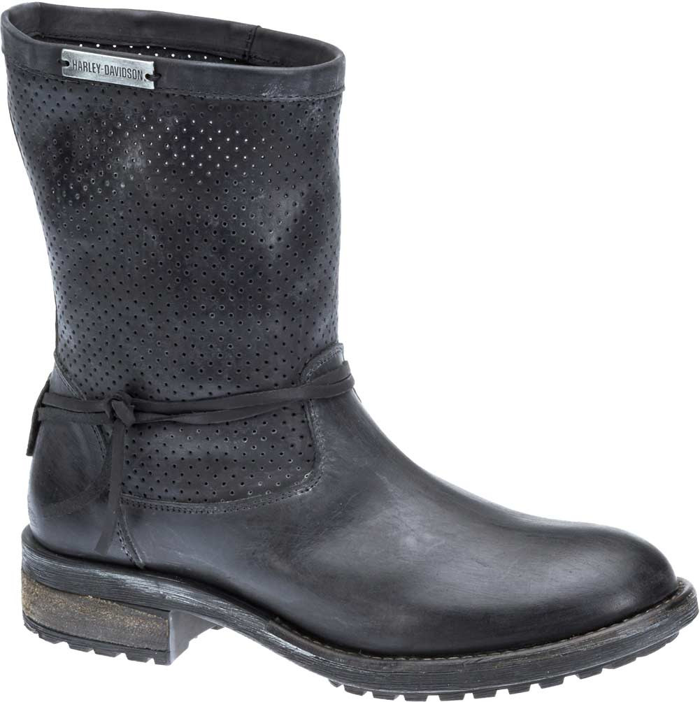 c1e3377d2a0a Harley-Davidson Women s Sicilia 7.75-In Black Motorcycle Boots D83972 -  Largest Selection of. See 3 more pictures