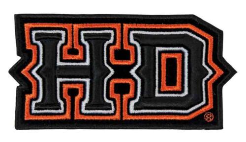 Harley-Davidson 3D Embroidery Spiked H-D Emblem Patch, Medium EM241643 - Wisconsin Harley-Davidson