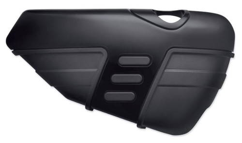 Harley-Davidson Cut Back Oil Tank Cover, Fits 14-later XL Models, Black 57200139 - Wisconsin Harley-Davidson