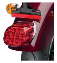 Harley-Davidson Layback LED Tail Lamp, Red Lens, Fits XL Models 67800355 - Wisconsin Harley-Davidson