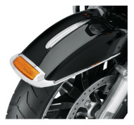 Harley-Davidson Front Fender Trim - Chrome, Fits Softail & Touring 14100618 - Wisconsin Harley-Davidson