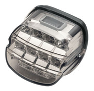 Harley-Davidson Layback LED Tail Lamp, Smoked Lens, Fits XL Models 67800356 - Wisconsin Harley-Davidson