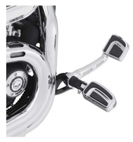 Harley-Davidson Airflow Footpegs - Chrome, Fits w/ H-D Male Mount-Style 50500435 - Wisconsin Harley-Davidson