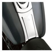 Harley-Davidson Dash Panel Extension - Chrome Finish, Fits Glide Models 71282-04 - Wisconsin Harley-Davidson