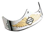 Harley-Davidson Rear Eagle Wing B&S Fender Trim, Fits Fat Boy Models 59369-97 - Wisconsin Harley-Davidson