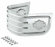 Harley-Davidson Bar & Shield Fender Skirt - Chrome, Fits Softail Models 59228-91 - Wisconsin Harley-Davidson