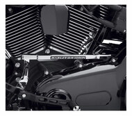 Harley-Davidson Engraved Medallion Shift Linkage Cover - Chrome Finish 46305-01 - Wisconsin Harley-Davidson