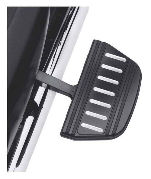 Harley-Davidson Edge Cut Passenger Footboard Insert Kit, Traditional 54196-10 - Wisconsin Harley-Davidson