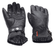 Harley-Davidson Women's Jayden Under Cuff Gauntlet Full-Finger Gloves 98250-18VW - Wisconsin Harley-Davidson