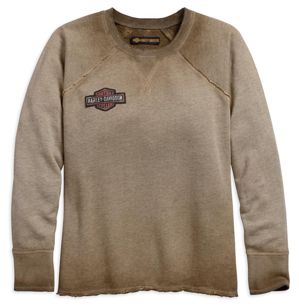 9c84b26884 ... Harley-Davidson Women s Chunky Studded B S Raglan Pullover Sweatshirt.  See 1 more picture