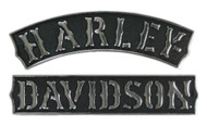 Harley-Davidson Vintage Rockers Plastic Decal, MD 5.5 x 3.125 inches DC251753 - Wisconsin Harley-Davidson