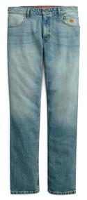 Harley-Davidson Men's Straight Leg Fit Modern Stretch Jeans, Indigo 99053-18VM - Wisconsin Harley-Davidson