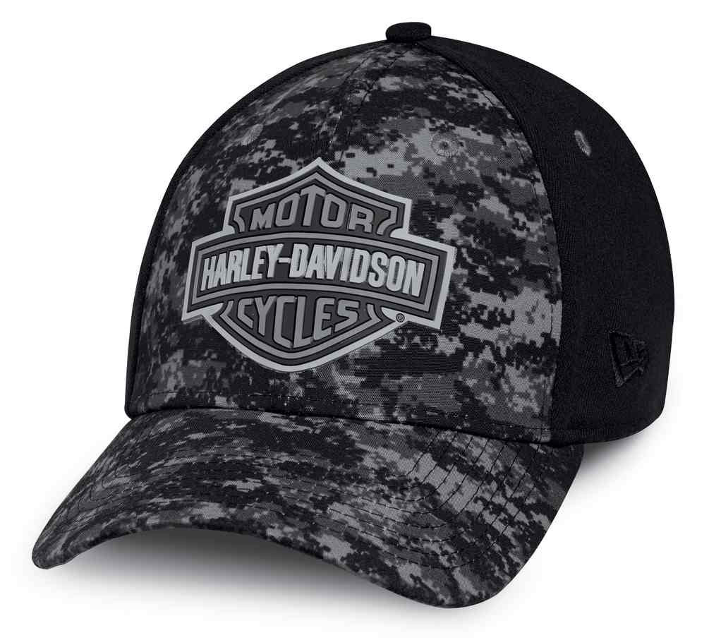 74822f93ba0 Harley-Davidson® Men s Digital Camo 39THIRTY Fitted Baseball Cap ...