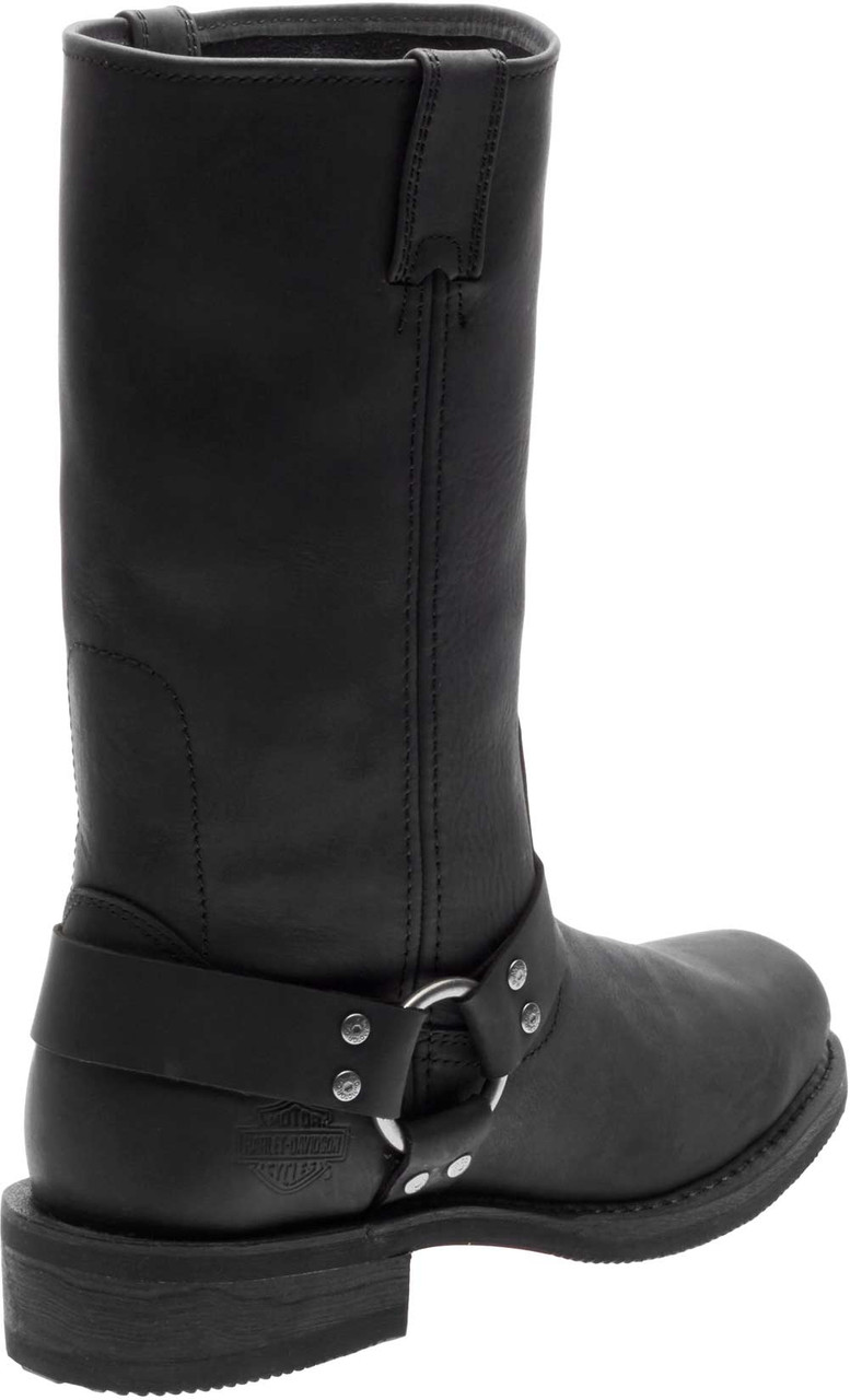 e52ec2e1a95 Harley-Davidson® Men's Bowden 11.5-In Black Harness Style Motorcycle Boots  D93477