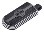 Harley-Davidson Burst Rectangular Footpegs, Fits H-D Male Mount-Style 50500367 - Wisconsin Harley-Davidson