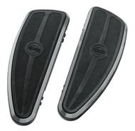 Harley-Davidson Burst Rider Footboard Kit, Softail & Touring Models 50500244A - Wisconsin Harley-Davidson