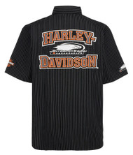 Harley-Davidson Mens Screamin' Eagle Frontrunner Embroidered Crew HARLMW0059 - Wisconsin Harley-Davidson