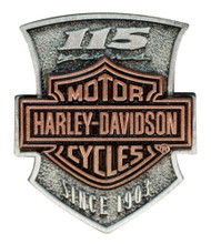 Harley-Davidson Pins for Jackets and Vests - Wisconsin