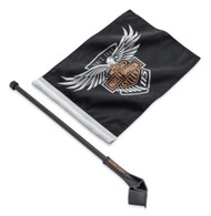 Harley-Davidson 115th Anniversary Flag Kit, Tour-Pak & Saddlebag Mount 61400522 - Wisconsin Harley-Davidson