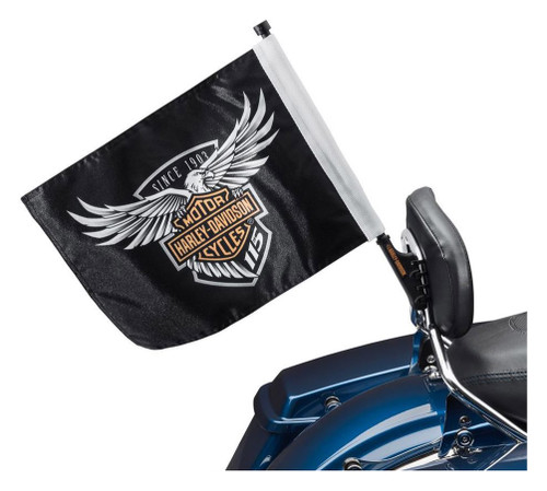 Harley-Davidson 115th Anniversary Flag Kit, Tour-Pak & Saddlebag Mount 61400522 - Wisconsin Harley-Davidson