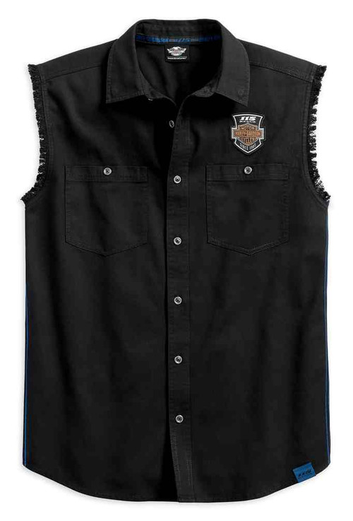 Harley-Davidson Men's 115th Anniversary Blowout Limited Edition Shirt 99004-18VM - Wisconsin Harley-Davidson