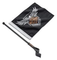 Harley-Davidson 115th Anniversary Limited Edition Flag Kit, Tour-Pak 61400523 - Wisconsin Harley-Davidson