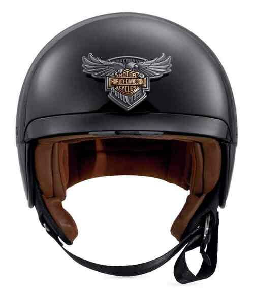 Harley-Davidson 115th Anniversary Medallion B09 5/8 Helmet, Gloss 98147-18VX - Wisconsin Harley-Davidson