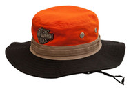 Harley-Davidson Men's Colorblocked Embroidered Boonie Cotton Twill Hat HD-476 - Wisconsin Harley-Davidson