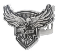 Harley-Davidson 115th Anniversary Trailer Hitch Cover, Engraved 2 Inch HDHC115 - Wisconsin Harley-Davidson